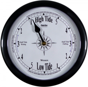 ''Wessex'' - 9'' Black Surround Tide Clock