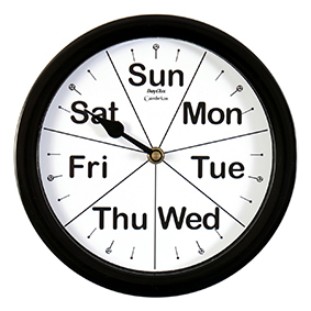 Day of the Week Clocks