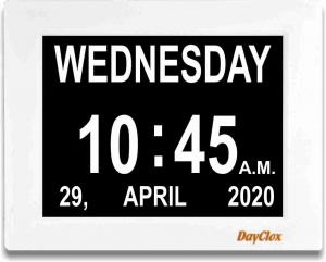 Digital Day Clock