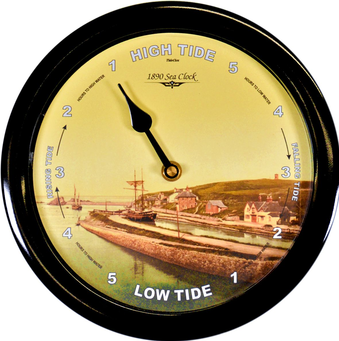 1890 Sea Clock  Classic 515 - Tide Clock