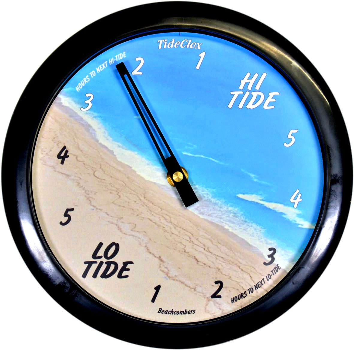 Beachcombers Tide Clock