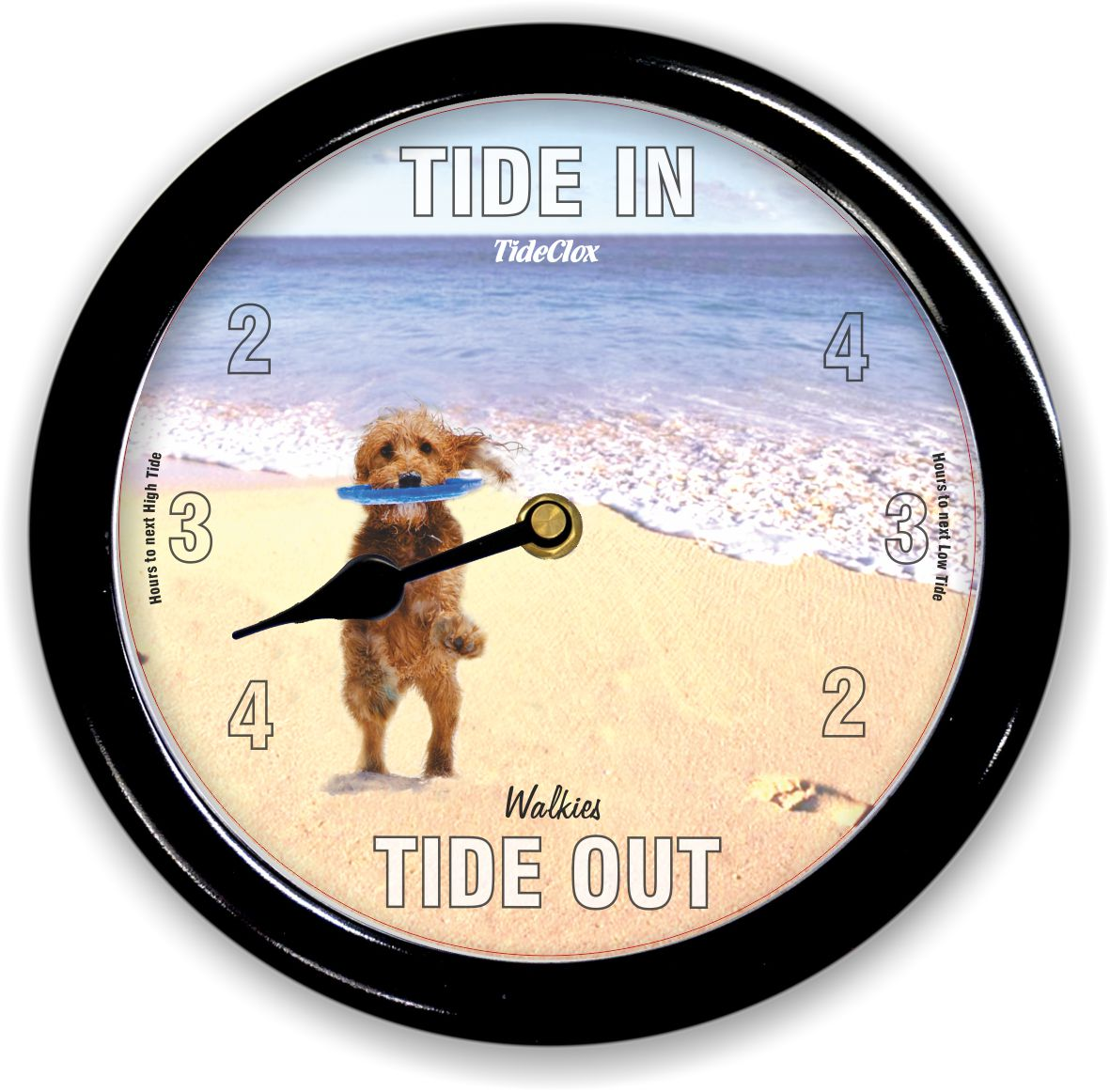 Sandy Paws Classic Tide Clock