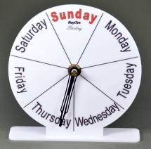 Compact Day Clock