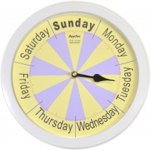 Focus Day Clock High Vis Standard