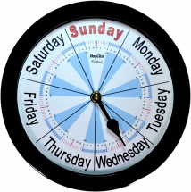 Day Clock Rutland Classic Black
